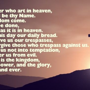 7 reasons to start with the Lord's Prayer