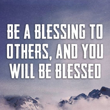 Always bless others