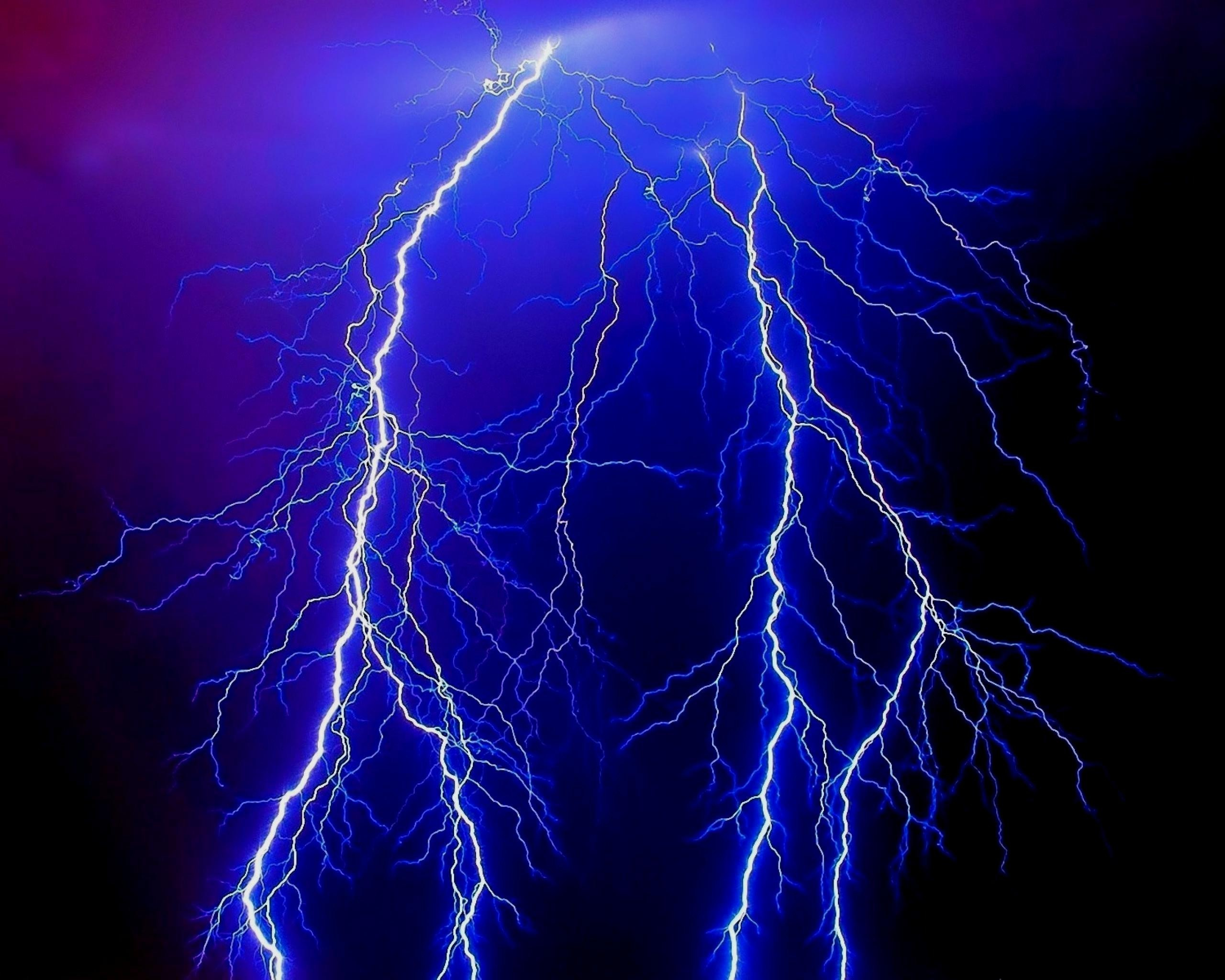 Demonic lightning