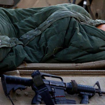 Sleeping Christian soldiers.