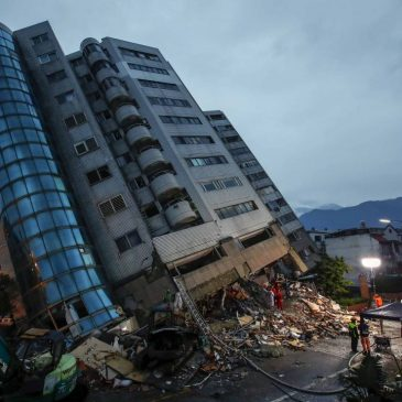 Only one earthquake-proof building on earth