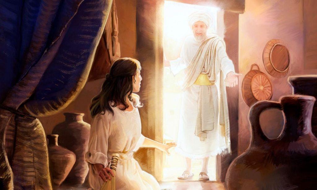 How God's angels pray.