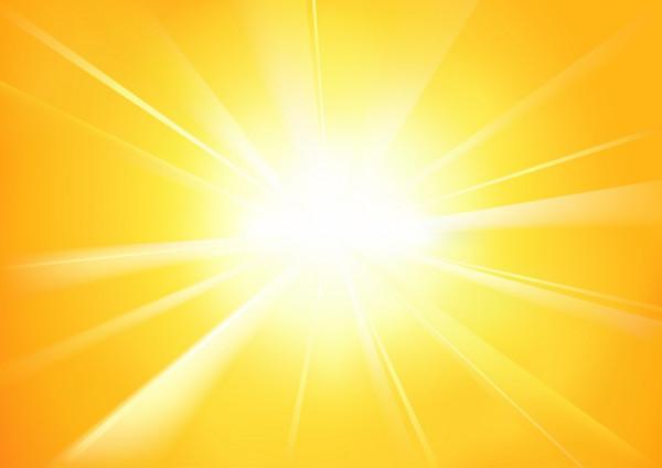 GOD'S SPLEANDOUR WAS LIKE A BRILLIANT SUNSHINE